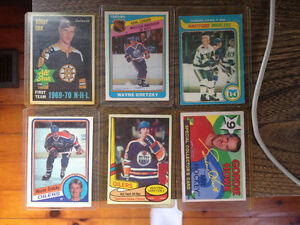 Lot of sports cards w Bobby Orr 2nd year all star London Ontario image 3