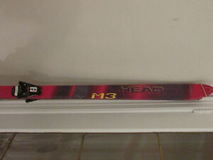 Head skis M3 185C with Tyrolia bindings/poles great condition