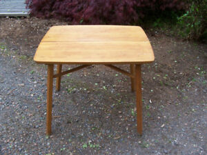 Vintage Childs Table 25 by 21 and 21 Tall For Sale