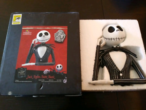 SDCC Nightmare before Christmas resin Jack bank