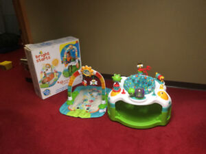 Bright Starts Activity Gym (Mat) and Saucer