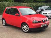 2004 Seat Arosa 1.0 8v S Red only 52,524 Miles Warranted P/X Clearance BARGAIN!!