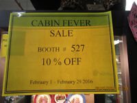 CABIN FEVER AS HIT AT ONE OF A KIND