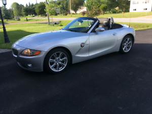 2003 BMW Z4-convertible 2-seater