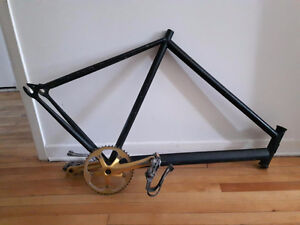 Sole 55cm Steel Track Frame