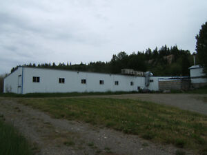 Former Mushroom Farm for Sale or Lease