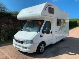 2006 (56) LMC GEIST LIBERTY A 590. ONLY 12000 MILES 1 OWNER FROM NEW