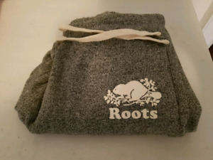 Roots track pants size large