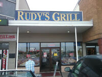 Rudy's Grill: Looking for cook with experience