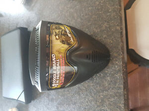 Brand new paintball mask with chin strap