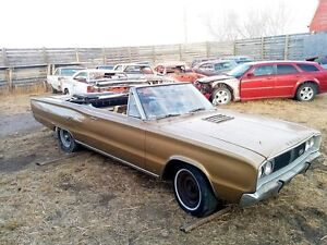1967 Dodge Coronet R/T Convertible with Fender Tag