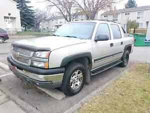 CHEAP!!! 2004 Chevrolet Avalanche Z71 4x4 with remote start!