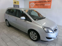 2012 Vauxhall/Opel Zafira 1.7CDTi 16v ecoFLEX ( 110ps ) Excite (Special