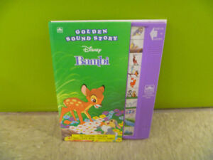 Bambi Book With Sounds