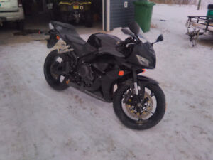 07 Honda CBR 600rr low mileage