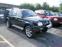 "2005 Mitsubishi L200 2.5TD ""ANIMAL"" Crewcab Pickup * EXCELLENT * NO VAT *"