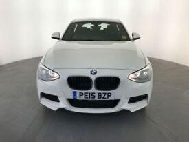 2015 BMW 125D M SPORT AUTO 218 BHP DIESEL 1 OWNER BMW SERVICE HISTORY FINANCE PX
