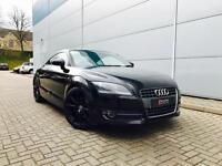 """2009 09 reg Audi TT Coupe 2.0 T FSI Coupe + Black + 18"""" Black Alloys"""