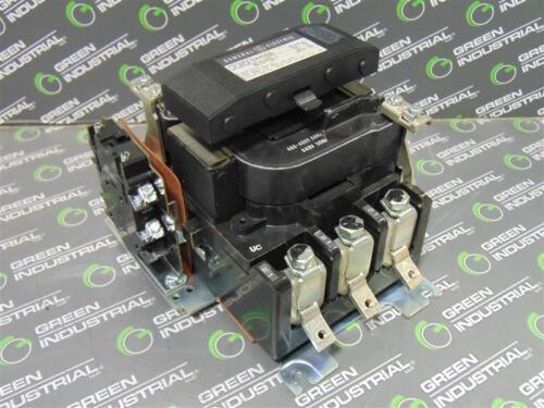 USED General Electric CR305F0**AAA NEMA Size 4 Contactor 40-100 HP 460-480V Coil