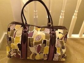 Accessorize large overnight/weekend bag
