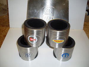 Mopar 75th Anniversary Coldie Set 1937-2012 (4) W/ Collector Tin