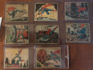 1940 Superman Trading Cards