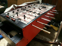 coin operated Hurricane foose ball table