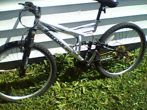 Men's 18-speed mountain bike