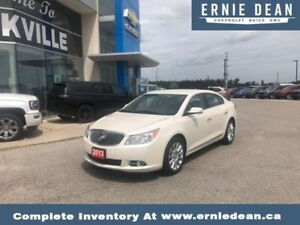 2013 Buick LaCrosse FWD luxury w/1SL  ONLY 48000 KM - HEATED SEA