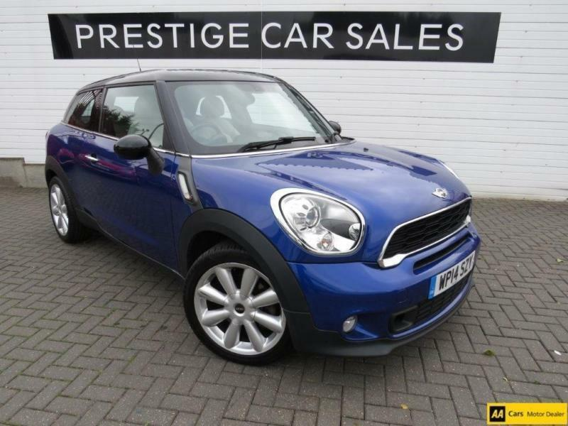 2014 Mini Paceman 16 Cooper S 3dr Petrol Blue Manual In Leicester