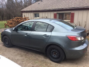 2012 Mazda 3 GS-SKY, Manual, 73,000 km's, Heated Seats, $9,750