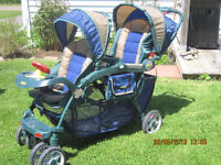 *JUST 3 DAY LEFT* JEEP Double stroller in VG condition