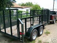 New 2019 - 77 X14 Professional Landscape Mower Utility Grass Haul Trailer