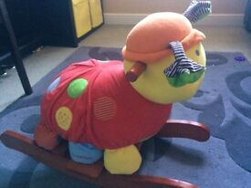 Mamas and Papas Lottie Ladybird rocker