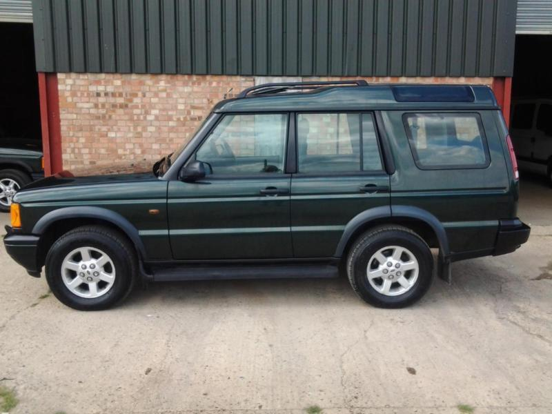 2002 land rover discovery 2 5 td5 automatic lether 4 x 4 part x considered in colchester. Black Bedroom Furniture Sets. Home Design Ideas