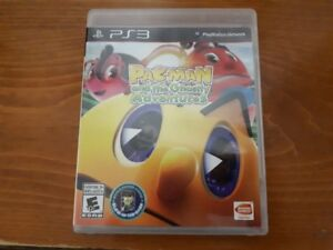 PacMan and the ghostly adventures PS3 Game disc CD