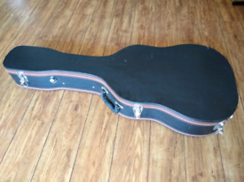 Luxury Archtop Flight Case Would suit Dreadnaughts and semi hollows (G