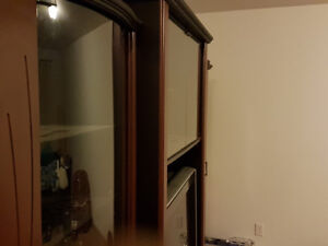 3 Piece Wall Unit - TV included
