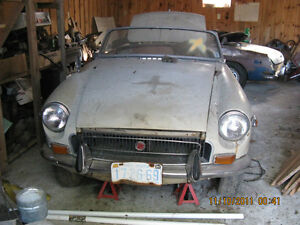 MGB,S  for REBUILD or PARTS