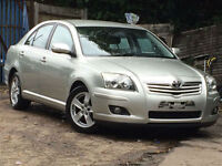 Toyota Avensis 1.8 VVT-i 2007MY T3-X WITH ONLY 51K MILES