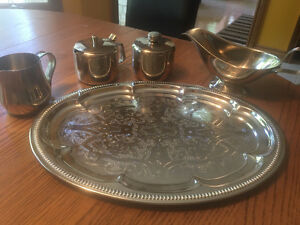 Stainless Steel Tea Set Windsor Region Ontario image 1