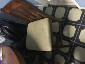 2 Chairs for kitchen table