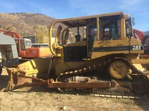 FOR SALE 1993 D6H CAT DOZER W/ DOUBLE SHANK RIPPER