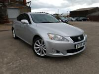 LEXUS IS 250 2.5 PETROL AUTO SE-I,HPI CLEAR,1 OWNER,SAT NAV,CAMERA,P/SENSOR,LEATHER,XENON,CRUISE,AUX