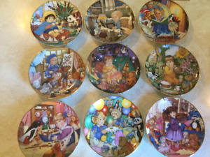 Collector Plates with Childhood Theme 13/$20