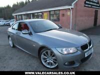 2011 11 BMW 3 SERIES 320D M SPORT 2 DR DIESEL