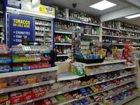 SHOP FOR SALE WITH THREE BEDROOM FLAT