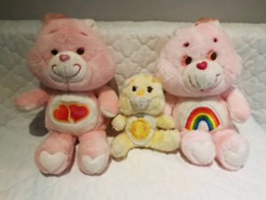 Vintage Care Bears - Lot of 3 - 1980's
