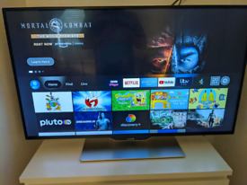 Luxor 42 inch HD smart and 3d Freeview built in TV