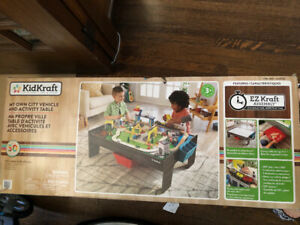 Brand new in box kid kraft my own city and vehicle activity